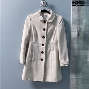 NWT Old Navy cream peacoat